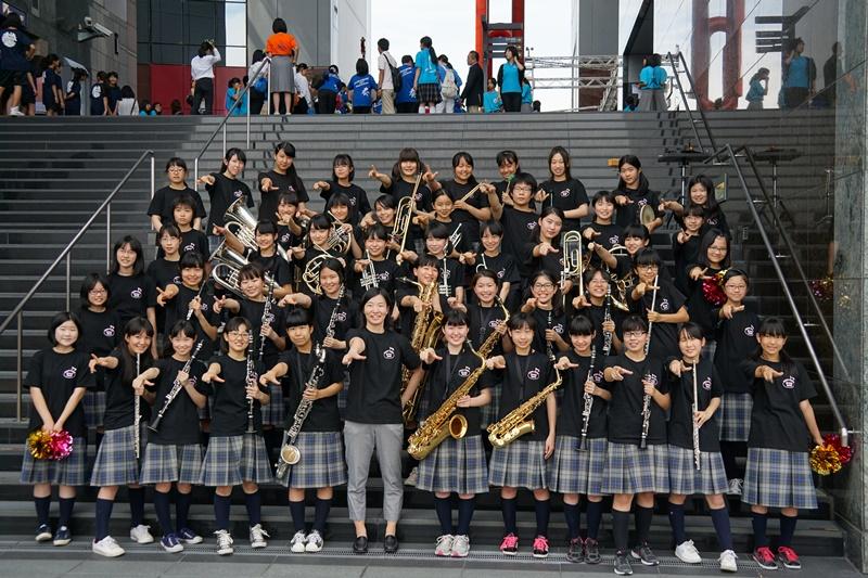 西京高等学校附属中学校吹奏楽部の皆様